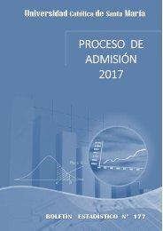 PROCESO DE ADMISION 2017
