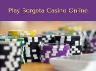 Play Borgata Casino Online
