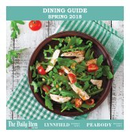 Dining Guide Spring 2018