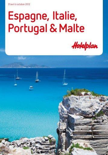 HOTELPLAN EspagneItaliePortugalMalte 2012