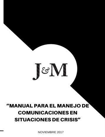 MANUAL DE CRISIS J&M