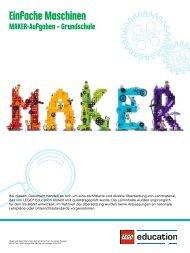 Einfache Maschinen_Maker_Aufgaben_Grundschule