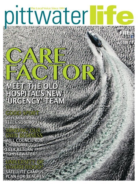 Pittwater Life May 2018 Issue