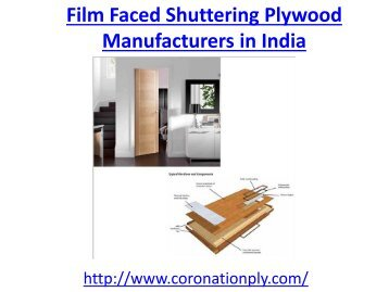 Film Faced Shuttering Plywood Manufacturers in India