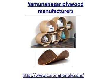 Yamunanagar plywood manufacturers