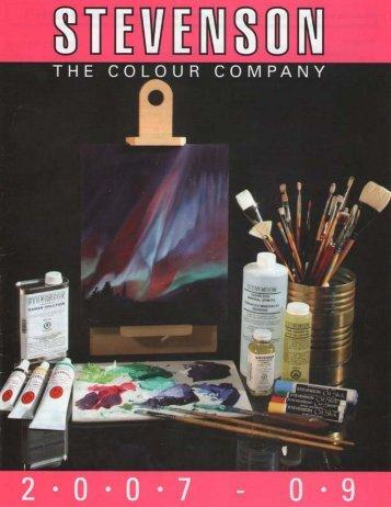 2008 product catalogue - DL Stevenson, Canada