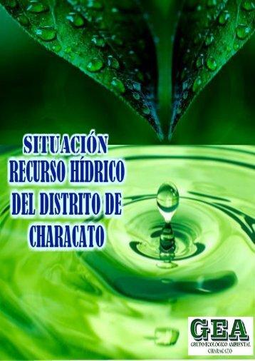 SITUACIÓN DEL RECURSO HÍDRICO DEL DISTRITO DE CHARACATO
