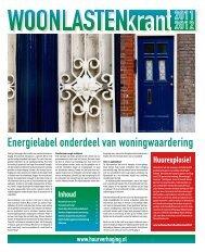 Woonlastenkrant 2011-2012 - Huurdersvereniging Amsterdam