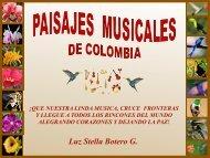PAISAJES MUSICALES DE COLOMBIA-ESP