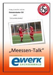 Meessen-Talk 27.04.2018 OSV vs. TuS Aumühle-Wohltorf