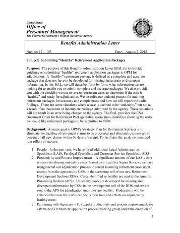 1 Restructuring Information Handbook Module 3 - Office of ...