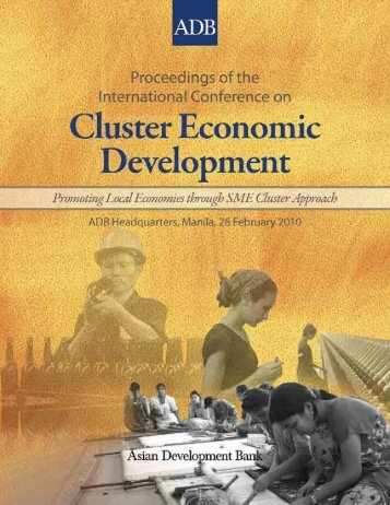 international conference on cluster economic development - Asian ...