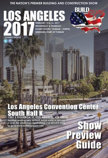 Los Angeles 2017 Build Expo Show Preview Guide