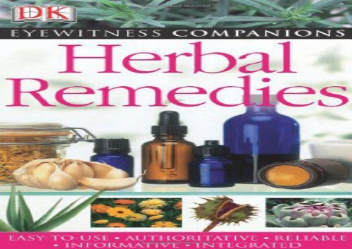 Free eBooks Herbal Remedies (Eyewitness Companions) Full page