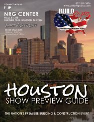Houston 2017 Build Expo Show Preview Guide