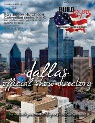 Dallas 2017 Build Expo Show Directory