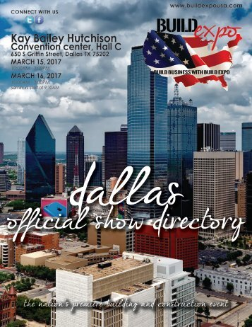 Dallas 2017 Build Expo Show Directory