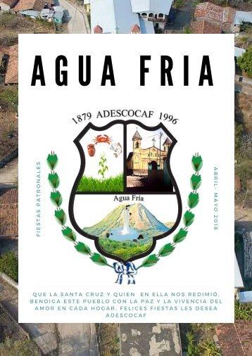 Agua Fria Fiestas Patronales 2018