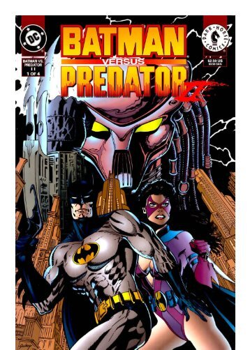 Batman vs Predator vol 2 (1-4)