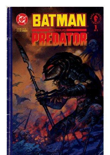 Batman vs Predator vol 1 (1-3)