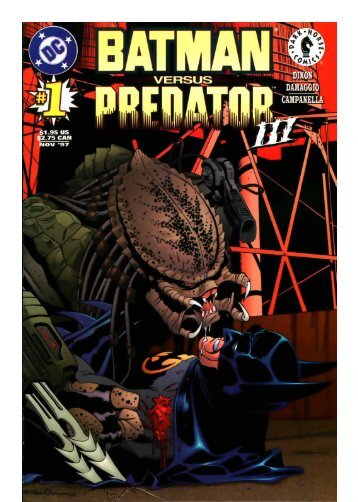Batman vs Predator vol 3 (1-4)