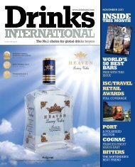 Download the November 2011 issue here - Drinks International