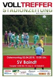 9. Ausgabe Stadionzeitung 2017/18