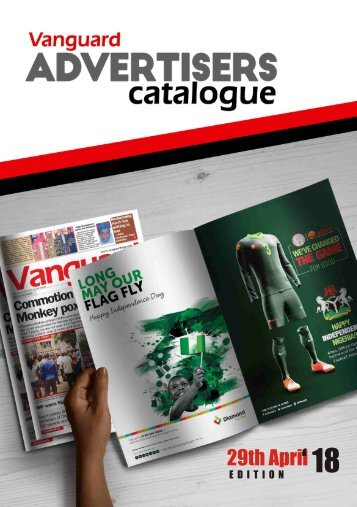 ad catalogue 29 April 2018