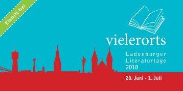 vielerorts - Ladenburger Literaturtage 2017