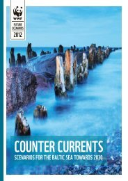 Counter Currents - Scenarios for the Baltic Sea towards - WWF