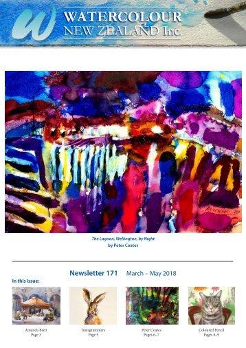 Watercolour New Zealand Newsletter #171