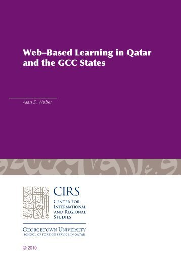 Web-Based Learning in Qatar and the GCC - Georgetown University ...