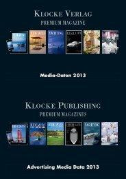 Media Data 2013 - Klocke Verlag GmbH