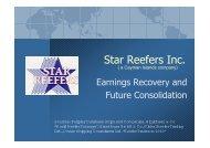 Star Reefers Inc.