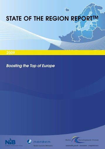 STATE OF THE REGION REPORTTM - Baltic Development Forum