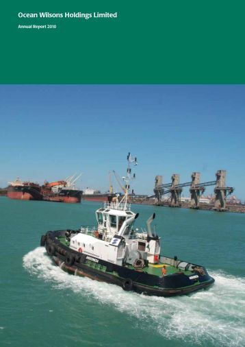 Ocean Wilsons Holdings Limited - Ocean Wilsons Holdings Ltd