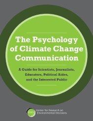 The Psychology of Climate Change Communication - NOAA Coastal ...