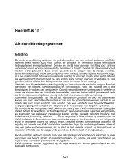 Hoofdstuk 15 Air-conditioning systemen