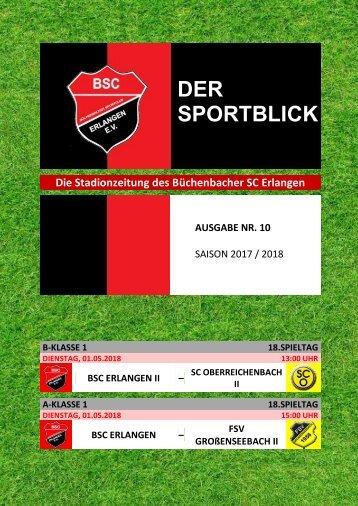 Der Sportblick (Ausgabe Nr. 10 | 17/18)