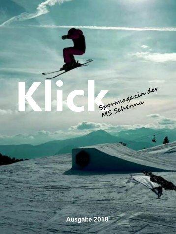 Klick - Das Sportmagazin der MS Schenna