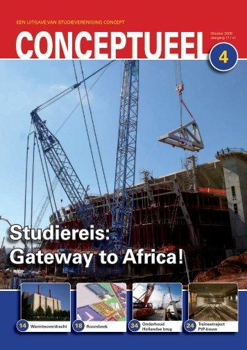 Studiereis: Gateway to Africa! - Studievereniging ConcepT ...