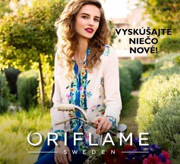 Oriflame katalóg 2018/7