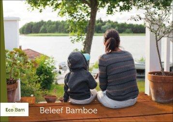 Ecobam bamboe Tuincatalogus 2018