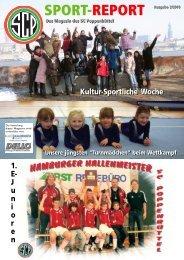 SPORT-REPORT Ausgabe 2/2010 Kultur-Sportliche Woche Unsere ...