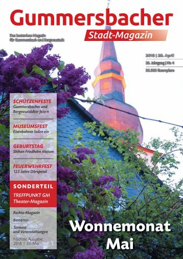 Gummersbacher Stadtmagazin April 2018