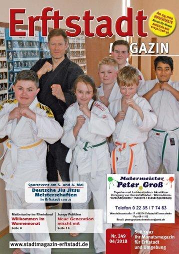 Erftstadt Magazin April 2018