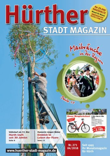 Hürther Stadt Magazin April 2018