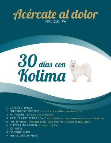 30 Dias con Kolima - Abril 2018