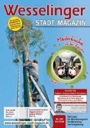 Wesselinger Stadt Magazin April 2018