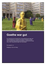 Goethe war gut